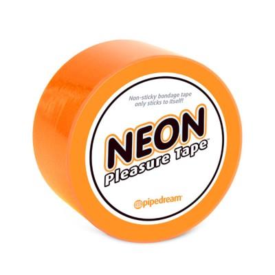 Cinta bondage NEON Naranja