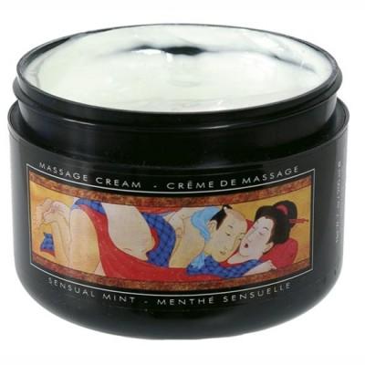 Crema masaje menta sensual