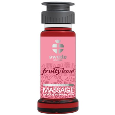 CREMA DE MASAJE FRUITY LOVE  Fresas con Cava 50ml
