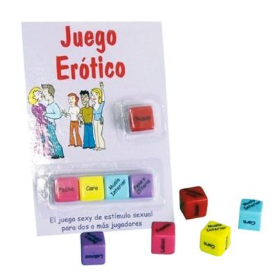 JUEGO DE DADOS ERÓTICO