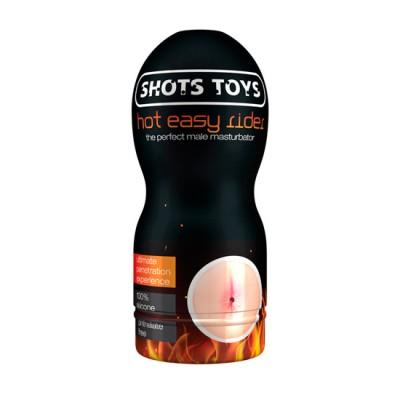 Masturbador masculino forma anal con efecto calor SHOTS