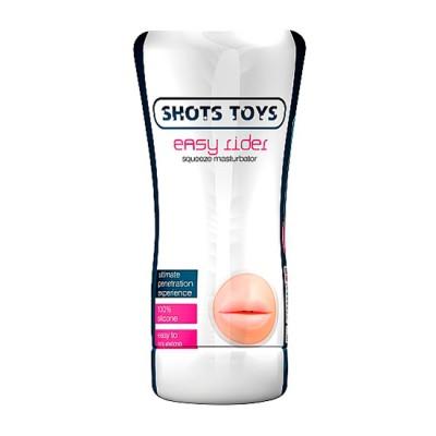 Masturbador masculino tubo forma boca SHOTS