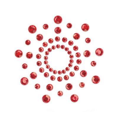cubre pezones rojos