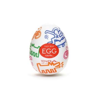 Huevo masturbador TENGA EGGS Modelo DANCE by Keith haring