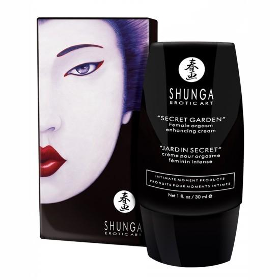 Crema orgasmo shunga orgasmo femenino jard n secreto for Shunga jardin secreto