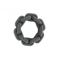 Anillo pene cadena gris SONO N. 5