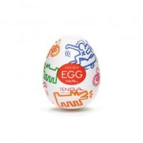 Huevo masturbador TENGA EGGS Modelo STREET by Keith haring