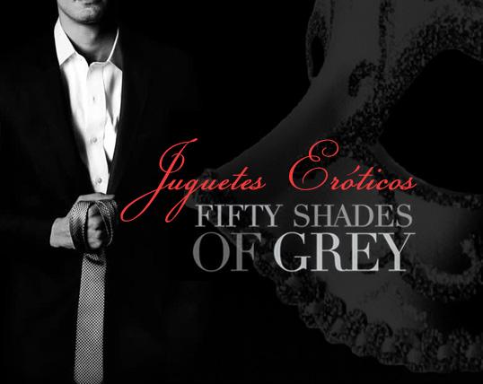 Juguetes eróticos 50 Sombras de Grey